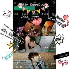 #inspirit #infinite #INFINITE #Kim SungGyu #김성규 #KimMyungSoo #NamWooHyun #김명수 #인피니트 #Fighting #TOP4&5 #金圣圭 #kontrol #TheAnswer @l.ifnt @nwh91 #27 ♪♪♩♩♬♬ 김성규 Fighting !!Kim SungGyu #Korea #China #Music