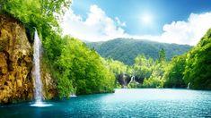 Nature Waterfall Lake Trees - Tap to see more & wallpapers ! Galaxy Wallpaper, Hd Wallpaper, Laptop Wallpaper, Roses Tumblr, Disney Mignon, Video Vintage, Hd Nature Wallpapers, Wallpapers Ipad, Floral Wallpapers