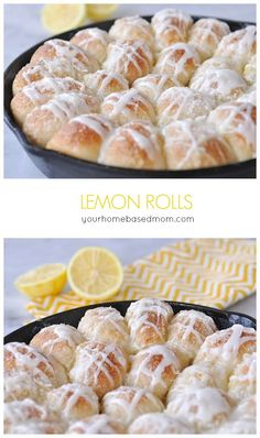 Lemon Rolls are amazing!  If you like lemon you are going to LOVE these!  by yourhomebasedmom