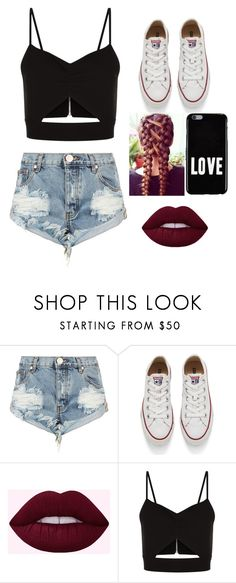 """Converse GANG!"" by love123-379 ❤ liked on Polyvore featuring OneTeaspoon, Converse, Racil and Givenchy"
