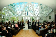 Wedding Ceremony at Bacchus   Reception Sites 101: Downtown Milwaukee   Premier Bride Wisconsin