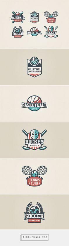 Design Story – Sport Logo Set (by Alina Shipulina)
