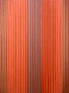 Karl Benjamin - #22 (red, orange), 1979