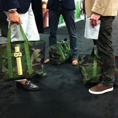 Mister Mort spotted GQ's custom L.L.Bean Camo Hunters Tote (Taken with Instagram)