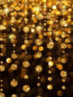 Gold Rain Ipad mini wallpaper