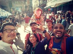 10 seconds more and one of us could have got bashed up!  A we-fie with the PuluKisi!  #KTMwalks #Pulukisi