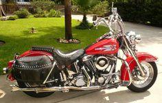 My DREAM Bike\1992 Harley Davidson Heritage Softail FLSTC Motorbike.