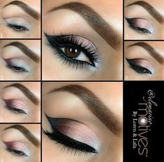 Neutral cut-crease