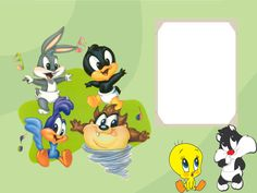 Baby Looney Tunes Free Printable Invitations or Cards obrzky