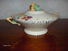 "Burleigh Ware Art Deco ""Fragrance"" pattern Bowl 9 (08/27/2011)"