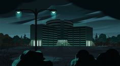 stevencrewniverse:  A selection of Backgrounds from the Steven Universe episode: Nightmare Hospital Art Direction: Jasmin Lai Design: Steven Sugar and Emily Walus Paint: Amanda Winterstein and Ricky Cometa