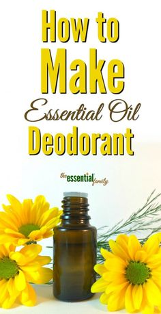 This DIY essential oil deodorant recipe is my personal favorite. It takes just a few minutes to make and lasts a long time.