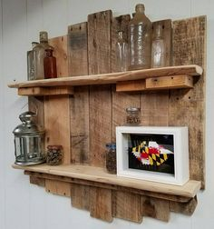 amazing pallet shelf