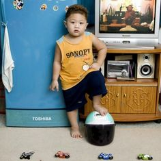 Photos of children from around the world with their favorite toys