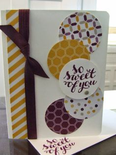 Gathering Inkspiration: All Occasion Card Class/Club - Wednesday, July 9 - Card #1