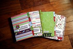 Homemade Christmas planner - oh, how I wish I were organized enough to get this organized!