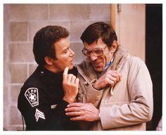 The time TJ Hooker busted Mr. Spock for selling bootleg Star Trek merchandise.