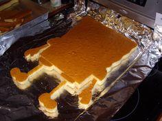 Mary Cooks: SpongeBob SquarePants Birthday Cake