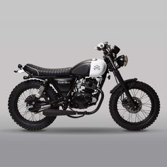 A 125cc mutt motorcycle. Born in LDN and built in collaboration with Mutt Motorcycles.