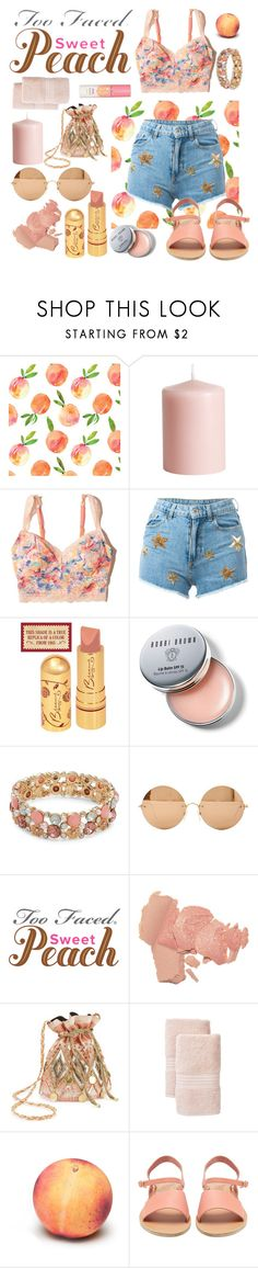 """Lovely Juicy Sweet"" by tomorrowspirit ❤ liked on Polyvore featuring beauty, H&M, Hollister Co., Chiara Ferragni, Bobbi Brown Cosmetics, Design Lab, Victoria Beckham, Miss Selfridge, Too Faced Cosmetics and Nordstrom Rack"