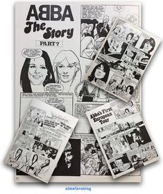 Visit my blog to read this Abba comic strips from issue 22 of the Abba Magazine #Abba #Agnetha #Frida http://abbafansblog.blogspot.co.uk/2017/03/abba-comic-strip.html