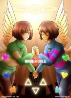 Undertale: Angels by Kutori