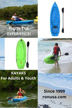 Enjoy the Experience with one of our lightweight & durable kayaks. #kayaks #fishingkayaks