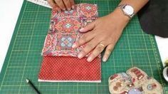 Bolsinha multiuso rápida para o dia das mães Sewing Hacks, Sewing Crafts, Sewing Projects, Diy Bags Patterns, Sewing Patterns, Clutch Bag Pattern, Scrap Busters, How To Make Purses, Wallet Tutorial