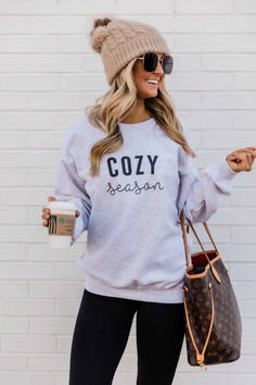 Cozy Winter Outfits, Casual Fall Outfits, Cute Outfits, Outfit Winter, Cute Legging Outfits, Comfortable Fall Outfits, Comfy Casual, Girly Outfits, Trendy Outfits