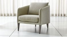 Rhys Bench Seat Chair at Crate and Barrel Canada. Discover unique furniture and decor from across the globe to create a look you love. Modern Furniture Online, Unique Furniture, Custom Furniture, Furniture Ideas, Furniture Design, Cabin Furniture, Upholstered Furniture, Upholstered Dining Chairs, Office Furniture