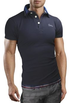 Look your best in men's polo shirts from Grin.
