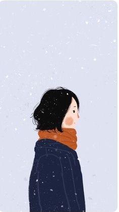 Illustrations of people Illustration Girl, Digital Illustration, Korean Illustration, Cute Wallpapers, Wallpaper Backgrounds, Whatsapp Wallpaper, Couple Wallpaper, Couple Art, Couple Pics