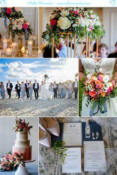 Meg-Bryan King-Prince Resort Wedding Inspiration Boards, Wedding Inspiration, St Simons Island, Wedding Mood Board, Mood Boards, Wedding Colors, Real Weddings, Prince, King