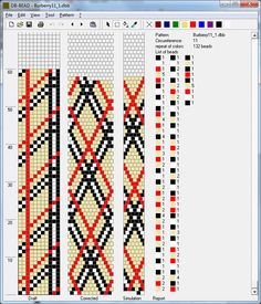 Burberry11 1. Tutorial: Design Tubular Bead Crochet Jewelry Patterns by Lablun's Stitch Art op Youtube .