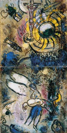 Marc Chagall - 1959, The Creation of Man #Jewish