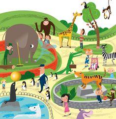 Children's Books illustration from Nila Aye #Illustration #Design