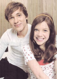 Georgie Henley and William Moseley in 2008 - true siblings.<<<< they are so precious.