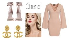 """""""Chanel"""" by jamakova ❤ liked on Polyvore featuring AX Paris, Chanel, women's clothing, women's fashion, women, female, woman, misses and juniors"""