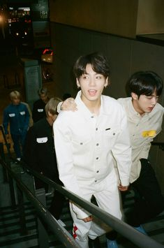 """Jungkook and Jin ❤ BTS Takes On L.A. With Vogue And It's """"Hella Lit"""" Photo~ (Article on: vogue.com) #BTS #방탄소년단"""