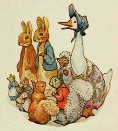Beatrix Potter characters.♔..