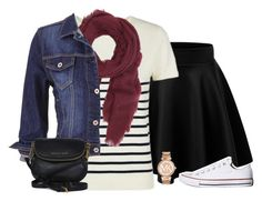 """But Now We're Stressed Out"" by evieleet ❤ liked on Polyvore featuring Jaeger, Saachi, maurices, Converse and Michael Kors"