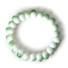 Retro Mermaid's Tears Ceramic Bracelet