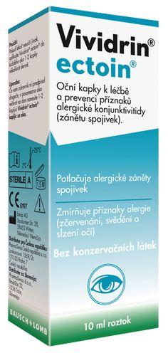 Vividrin ectoin - oční kapky | Štít proti alergenům