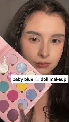Makeup For Black Skin, Makeup Eye Looks, Cute Makeup, Pretty Makeup, Skin Makeup, Eyeshadow Makeup, Gorgeous Makeup, Innocent Makeup, Kawaii Makeup Tutorial