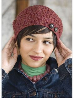 Crochet Me Workshop: Design Your Own Crocheted Hat with Robyn Chachula DVD - Interweave Hats For Short Hair, Short Hair Styles, Crochet Beret, Crochet Stitches, Crochet Classes, Crochet Projects, Yarn Projects, Knitting Projects, Knitting Patterns