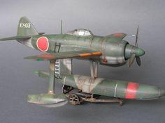 Kawanishi N1K1 Kyofu (Rex) Tamiya 1-48