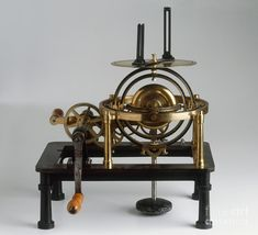 20th Century Photograph - Antique Gyroscope by Clive Streeter / Dorling Kindersley / Science Museum, London