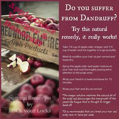 Natural Dandruff Remedy
