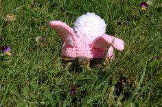 Easter Bunny Tortoise Cozy Crochet Pattern on Etsy.