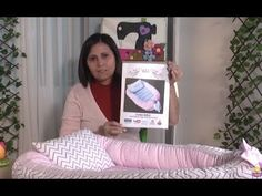 Paso a Paso.Programa 16. Cuna Nido. 3/3 - YouTube Self Binding Baby Blanket, Baby Boy Sweater, Bebe Baby, Baby Sewing Projects, Baby Nest, Pregnant Mom, Baby Hacks, Cloth Bags, Craft Stick Crafts